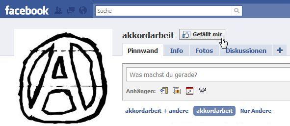 'akkordarbeit' bei Facebook