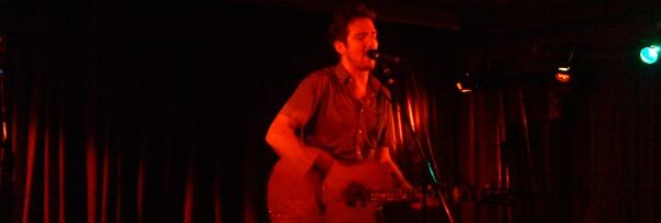 Frank Turner live @ Roter Salon, Berlin, 02.10.10