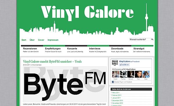 www.vinylgalore.de bei ByteFM