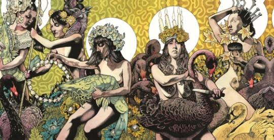 "Das Doppelcover für's Doppelalbum: Baroness - ""Yellow & Green"" (Relapse / rough trade / VÖ: 13.07.12)"