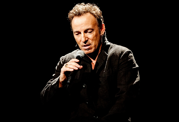 "Bruce Springsteen bei der Album-PK zu ""Wrecking Ball"" im Februar 2012, Paris (Foto: Yann Orhan / Sony Music)"