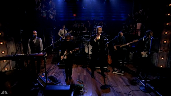 Screenshot: The National live @ Late Night With Jimmy Fallon 25/04/13