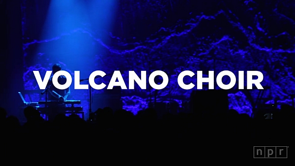 Volcano Choir live @ 9:30 Club (Screenshot: NPR.org)