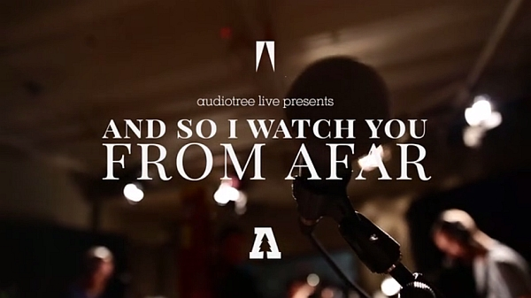 Screenshot: ASIWYFA live @ Audiotree (audiotree.tv)