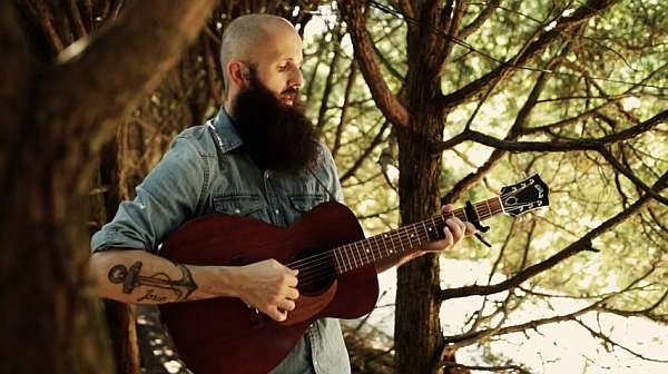 "Screenshot: William Fitzsimmons - ""Centralia"" (acoustic)"