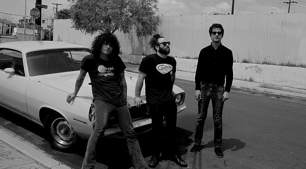 Cedric Bixler-Zavala, Dave Elitch & Omar Rodríguez-López sind Antemasque