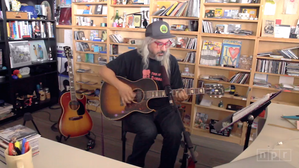 Screenshot: J Mascis live @ Tiny Desk Session (NPR Music)