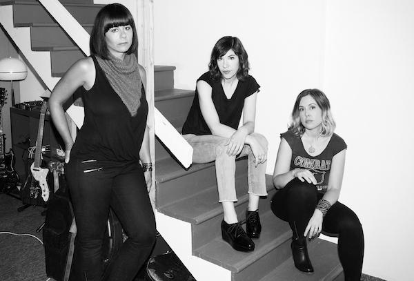 Sleater-Kinney anno 2014 (Foto: Brigitte Sire)