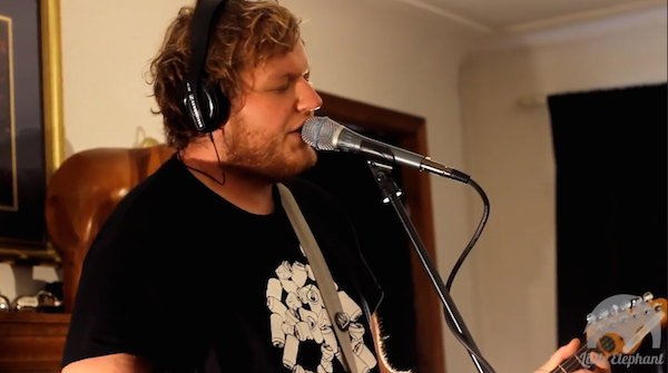 Screenshot: The Smith Street Band live @ Little Elephant Recordings