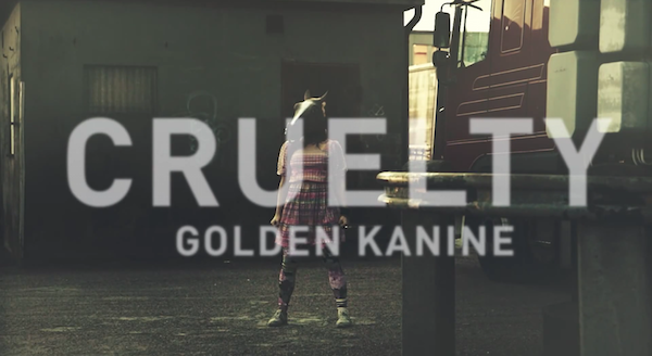 "Screenshot: Golden Kanine - ""Cruelty"""
